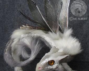 Dragon Doll Sculpture Collectible Art OOAK