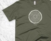 50th Birthday T-Shirt, 50 year old birthday tee shirt, Tree Rings, Milestone birthday, 50th birthday party gift, Men or Women Tshirt, 1967