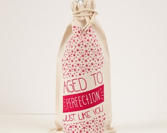 wine bag gift wrap gift bag