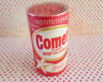 Little Vintage Pack of Comet Cleanser Matches
