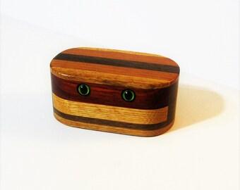 Creature Treasure Box Made Of Five Woods
