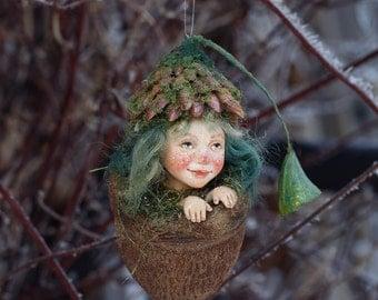 Mia, Elfenkind, handmade decoration