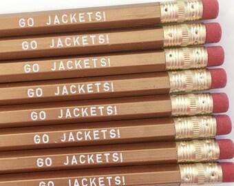 Go Jackets Pencils