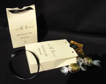 Wedding Favor Boxes - Rehearsal Dinner - Engagement Favors - Wedding Favors - Wedding Favors Candy - Wedding Candy Boxes - Favor Boxes