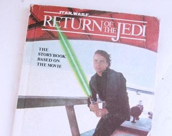 vintage Return of the Jedi storybook