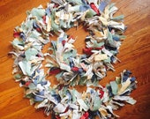 Boho Recycled Clothing Rag Garland *SALE*