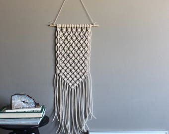 wall hanging STAR SEED - macrame - wall art - fiber art - kids room - boho