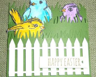 Happy Easter Birds