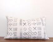 Mud cloth Pillow Cover - Lumbar