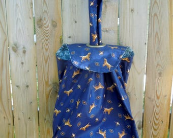 The Grommet Bag Project Tote, Reversible-Golden Retrievers