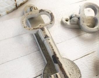 Key Door Knocker, SALE, Iron Wall Decor, Door Knocker, Key Wall Decor, Door Hardware