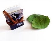 Purple Meadow Mini Book - collect or wear it