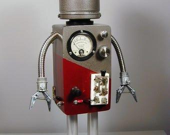 BAXTER Found Object Robot Sculpture  Assemblage