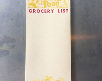 Grocery List Letterpress Shopping Pad