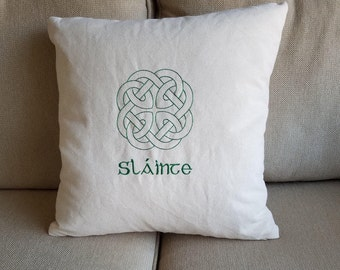 Celtic Pillow Cover
