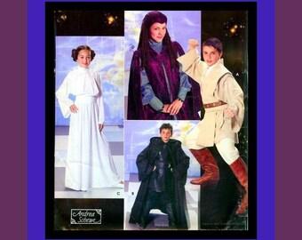 STAR WARS-Childrens Costume Sewing Pattern-Jedi-Princess Leia-Queen Padme Amidala-Anakin Skywalker-Obi-Wan Kenobi-Mega-Rare-Collectiblee