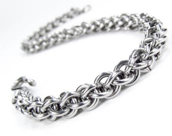 Chainmaille Bracelet - Jens Pind Pattern