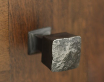 Cabinet Pull - Wrought Iron Mega Frithia Knob - Drawer Hardware