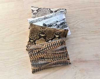 Woodland Decor Lavender Sachets, Scented Drawer Sachets, Gifts for Her Cotton Anniversary