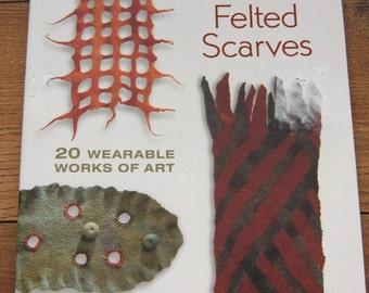 2007 pattern book Fabulous Felted Scarves men women