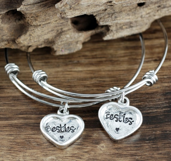 Besties Bracelet Set, Best Friends Bracelet Jewelry, Gift for Best Friends, BFF Jewelry, Bracelet Set for Friends, Bracelet for Best Friend