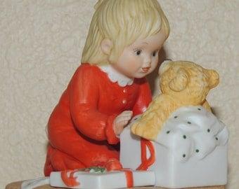 Lenox Teddys First Christmas Porcelain Figurine made in Japan