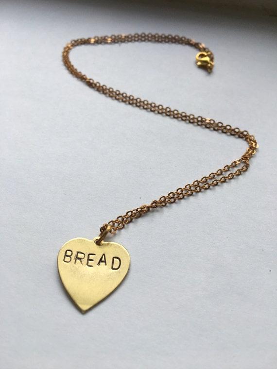 Oprah BREAD charm necklace