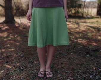 Womens Semi Circle Skirt- Made in the USA - Made to Order -Thrive