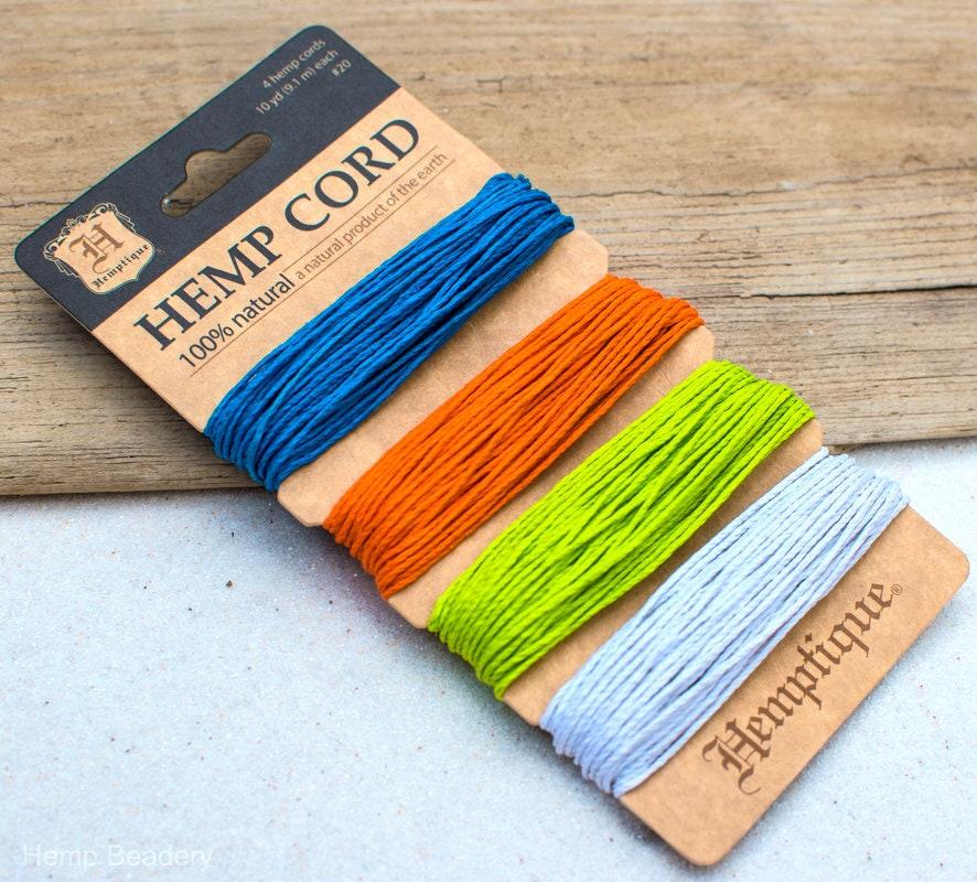 Colored Hemp Twine 20lb Hemp 1mm Hemp Crafters Cord Hemp