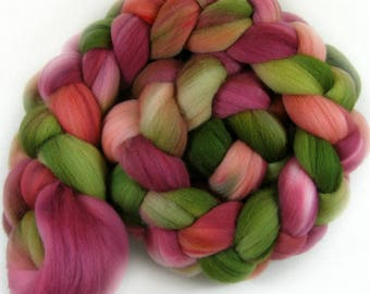 Orchard 1 merino wool top for spinning and felting (4.3 ounces)