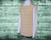 Knit Sweater Pattern, Knitted Vest Pattern, Pattern for Knit Vest, Knit Tunic Patterns, Knitting Pattern for Sweater