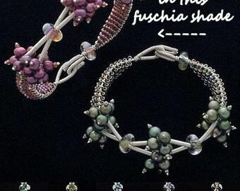 Dallas Lovett Designer Wirework Saguaro Bracelet KIT in Fuchsia Sunset Complete With TUTORIAL