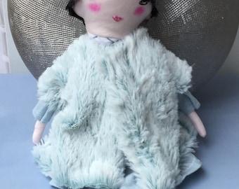Gifts for Her - Nursery Decor Girls - Handmade Ragdoll - Soft Doll for Kids - Baby Shower Girls - Kids Doll