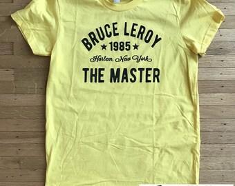 The Last Dragon Bruce Leroy Harlem Womens T-shirt  S, M, L, XL