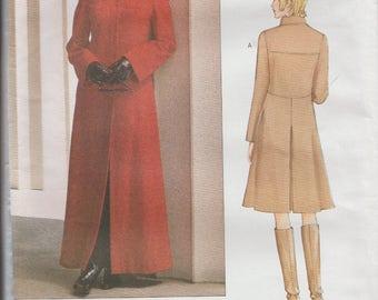 Vogue Paris Original 2590 / Designer Sewing Pattern By Claude Montana / Coat / Sizes 12 14 16