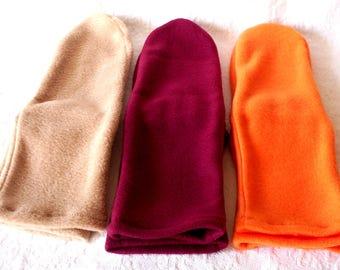Women's Fleece Socks, Ladies Socks, Warm Fleece Socks, Feet Warmers, Camping Socks, Sox for Women, Gift for Mom - Senior Citizens