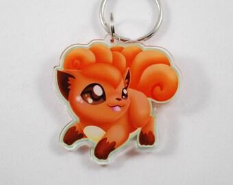 Pokemon Chibi Vulpix Keychain