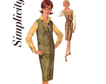 Simplicity 5140 Womens Jumper & Blouse 1960s Vintage Sewing Pattern Bust 36 Inches UNUSED Factory Folded