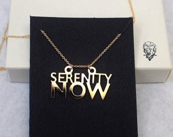 Serenity Now/Insanity Later Necklace