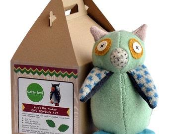 Owl Stuffed Animal Beginner Kit, Stuffed Animal, Soft Toy for Kids, Stuffed Owl, Plush Owl, Stuffed Toy, Children's Toy – Birthday Gift