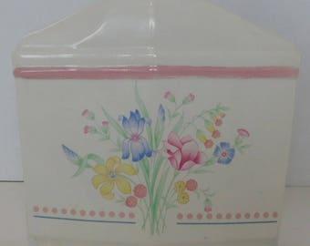 Napkin Holder by Sarma Studios Japan Victorian Flowers
