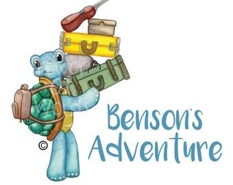 Benson's Adventure's Postcard Kit ~ Teacher Student Learning Tool ~ Reading Writing Centers Michigan Book