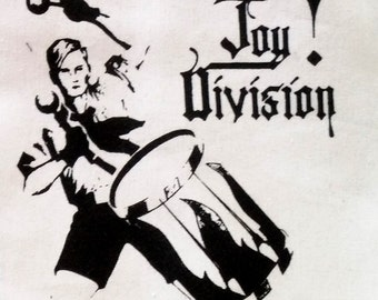 Joy division deathrock goth dark post punk patch