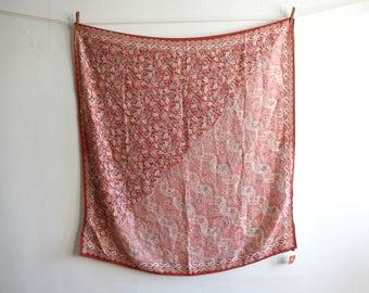 Silk Batik Keris Scarf