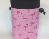 Chalk bag, Climbing chalk bag, Chalk bag climbing, Rock climbing chalk bag, Rock climbing gear, Flamingo chalk bag, Pink Flamingo