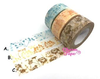 Flowers Washi Tape 15mm x 8 m WT903