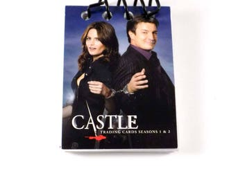 Castle Trading Card Sketch Notebook Castle and Beckett