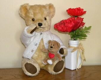 Vintage Bear - Deans Gwentoy Bear - Teddy Bear With Bells in Ears