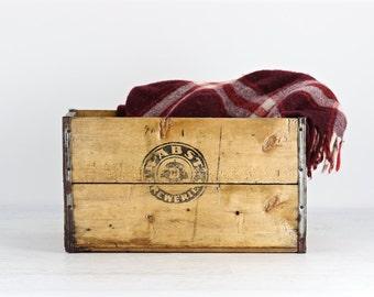 Pabst Breweries Wood Crate, Pabst Beer Crate, Pabst Wood Beer Crate, Vintage Pabst Beer Crate, Vintage Beer Crate, Breweriana