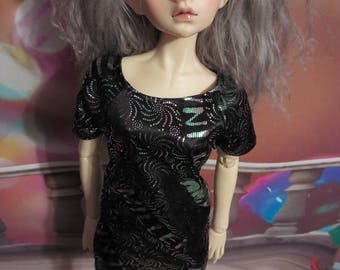 Millennium New Years Sparkle 60cm BJD Sack Dress 2000